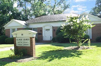 Belmont Branch - Gaston County Public Library